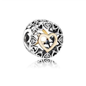 Pandora Loving Circle Charm, Clear CZ 792009CZ