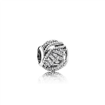 Pandora Majestic Feathers, Clear CZ 791749CZ