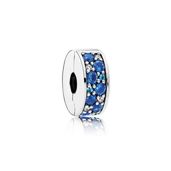 Pandora Mosaic Shining Elegance Clip, Multi-Colored Crystals & Clear CZ 791817NSBMX