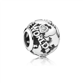Pandora All Around the World Openwork Charm 791718CZ